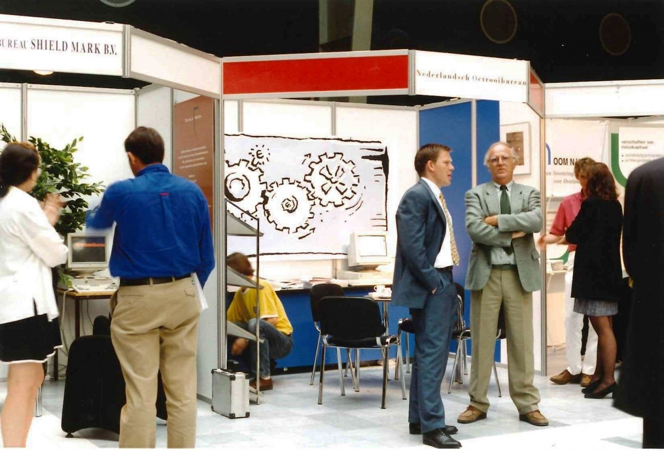 NLO at an exhibition in Rotterdam