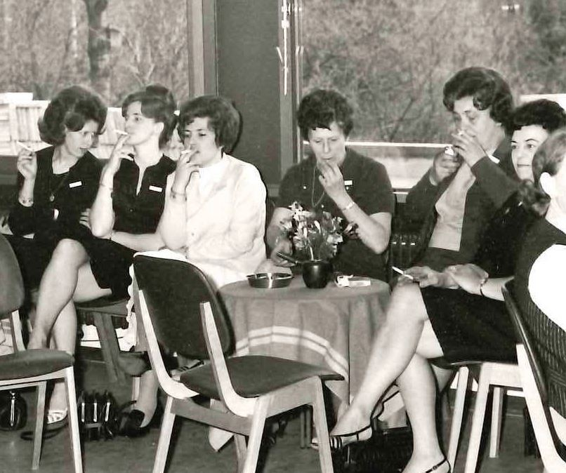 Female employees at NLO in 1969