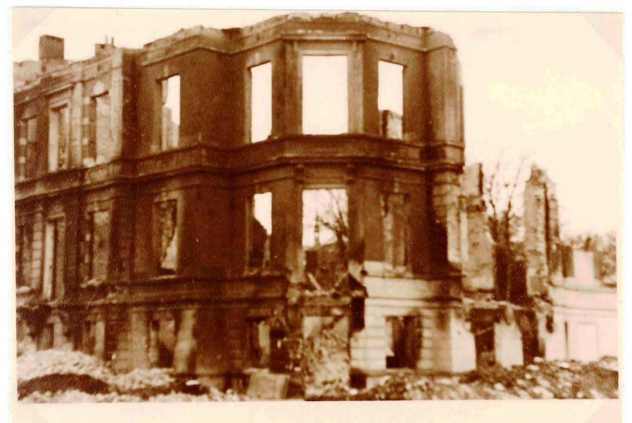 NLO's offices after the bombing